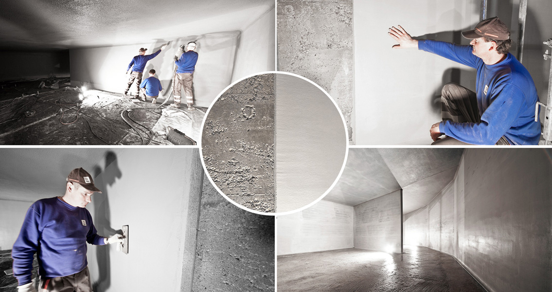 The internal surfaces of the main chamber of the Hinterbrühl drinking water tower are now ideally protected by anti-corrosion coatings from MC, giving an exceptional seal combined with outstanding chemical and abrasion resistance, plus a smooth, almost mirror finish in the wall area.